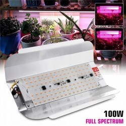 Reflektor halogen led GROW 100W do uprawy roślin - 1