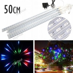 Lampki sople meteory 238 led 50 cm multikolor - 5