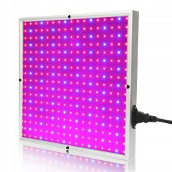 Panel do uprawy roślin grow led 20 w 289 led typu 2835 - 3