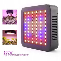 Panel do uprawy roslin grow led 600w full spectrum - 2