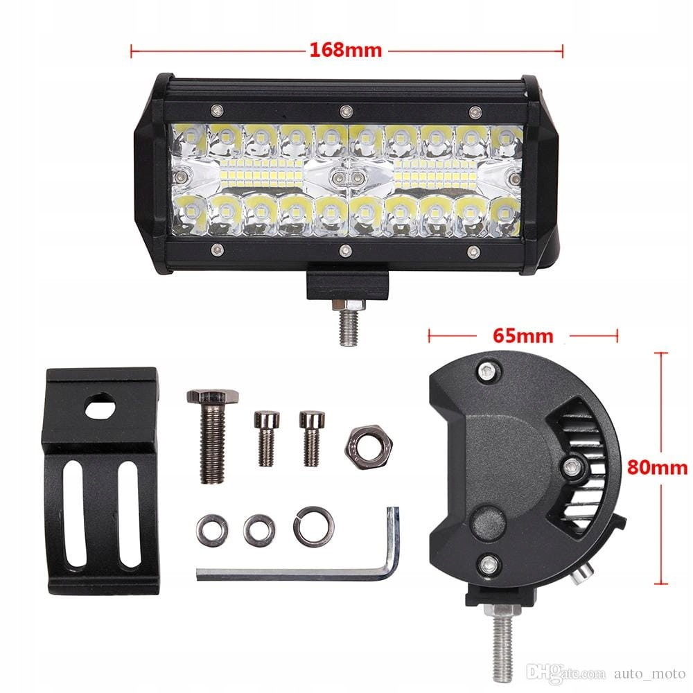 Lampa LED Robocza, halogen led, lampa cofania Off-road 10-30V/120W